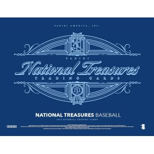 2017 NATIONAL TREASURES BASEBALL