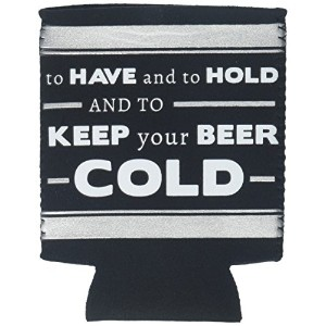 The We Doクルー85170Insulated Coozies、ブラック