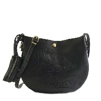 IL Bisonte(イルビゾンテ)ナナメガケバッグ A2665 153 BLACK