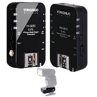 Yongnuo ワイヤレスフラッシュトリガー Wireless TTL Flash Trigger For Canon EXII series flash 5D Mark II 5D Mark...
