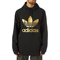 2018 ADIDAS アディダス SNOWBOARDING TEAM TECH HOOD BLACK/GOLD Mサイズ