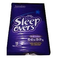 Sleep Overs? Youth Pants - CASE/60 (Sm/Med (45 - 65 lbs.)) by Sleep Overs
