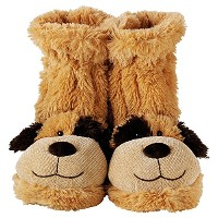 Aroma Home Fun For Feet Slipper Socks Dog