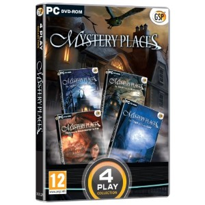 4 Play Collection - Mystery Places (PC DVD) (輸入版)