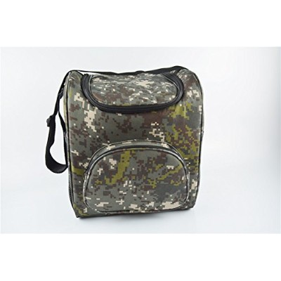 Joza 19l LargeクーラーバッグInsulated Lunchボックスバッグピクニッククーラートートバッグwith分配蓋、複数のポケット(迷彩) 19L