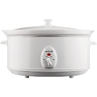 6.5QT SLOW COOKER WHT