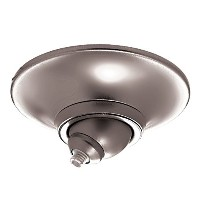WAC Lighting QMP-S60ERN-CH Surface Mount Round Metal Canopy for Sloped Ceiling Integral Electronic...