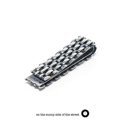on the sunny side of the street オンザサニーサイドオブザストリート710-162M Metal Chain Money Clip 13mm Jubilee Chain...