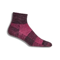WrightsockメンズMerino Coolmesh II Qtr