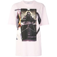 Givenchy プリント Tシャツ - ピンク&パープル