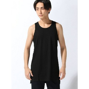 【SALE/20%OFF】ADPOSION (M)Liss ロングタンク テットオム カットソー【RBA_S】【RBA_E】【送料無料】