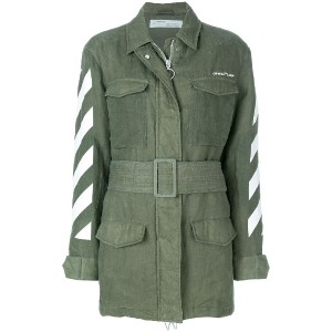 Off-White military jacket - グリーン