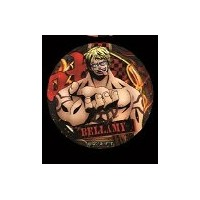ONE PIECE ワンピース 輩 缶バッジ 第12弾 POWER ベラミー 麦わらストア限定 単品 缶バッジ