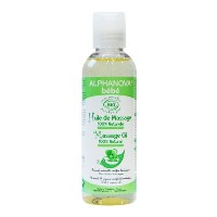 Alphanova Bebe-Organic Baby Massage Oil (100ML) by Alphanova