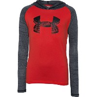 Under Armour Boys ' Tech Hoodie XS レッド