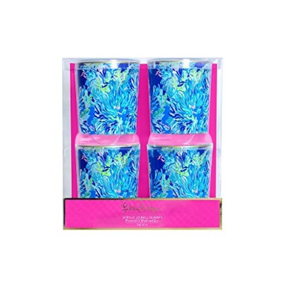 Lilly Pulizter lo-ball Glasses