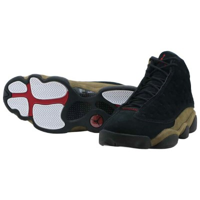 NIKE AIR JORDAN 13 RETROナイキ エア ジョーダン 13 レトロBLACK/GYM RED-LIGHT OLIVE