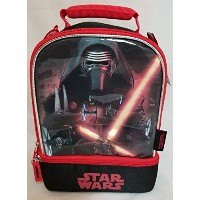 Thermos Star Wars ( TM ) Kylo RenデュアルコンパートメントInsulated Lunchキットwith Sistema BPAフリー15.2OzパープルAccent...
