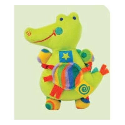 Primary Green Aligator Rattle Toy by Kids Preferred