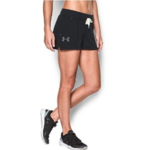 Under Armour Women 's Favorite French Terry Shorty S ブラック