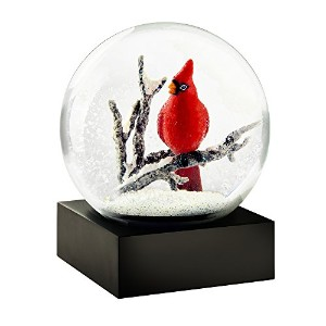 Cardinal Singing Cool Snow Globe by CoolSnowGlobes
