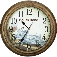 South Bend Lathe SB1300 Clock 'Lathe in Use' [並行輸入品]