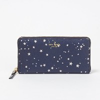 (ケイトスペード) KATE SPADE 財布 長財布 PWRU6149 458 RICH NAVY MULTI 【HYDE LANE NIGHT SKY】 Lacey [並行輸入品]