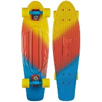 PENNY Painted Fades Canary Nickel Skateboard, Multi by Penny