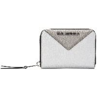 レディース KARL LAGERFELD K/Klassik Sm Zip Around Wallet 財布  ライトグレー