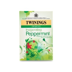Twinings Pure Peppermint Herbal Tea, 1.41 Ounce Box, 20 Count by Twinings