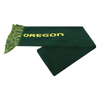 Oregon Ducks公式NCAAチームロゴWoven Scarf by Top of the World 921075