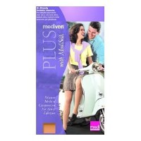 Mediven Plus, Knee-High, Extra Wide With Top Band, Petite, 30-40mmHg, Open Toe, Compression...