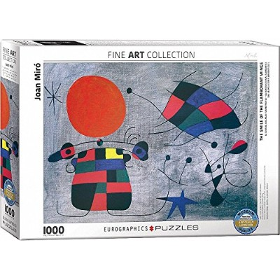 EuroGraphics Smile of the Flamboyant Wings by Joan Miro (1000 Piece) Puzzle [並行輸入品]