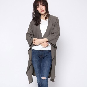 【SALE 57%OFF】ルーミィーズ  Roomy's OUTLET ジョーゼットテロンチ (カーキ)