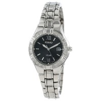 Seiko セイコー レディース腕時計 Women's SUT067 Dress-Solar Classic Watch