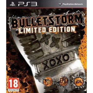 BulletStorm limited Edition ps3 playstation 3