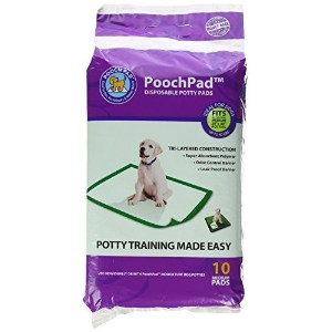 """High Quality Disposable Potty Pad (10 Pack), Medium/18""""..."""