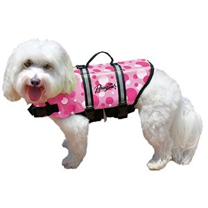 High Quality Doggy Life Jacket, Pink, Small