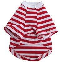 High Quality Pretty Pet Striped Top, X-Small, Red and...