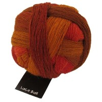 Schoppel Wolle 1208 Lace Ball 1874_Burnt Almonds