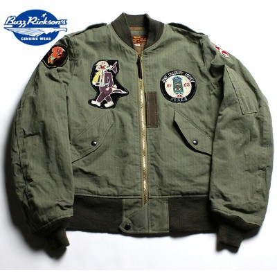 """No.BR13904 BUZZ RICKSON'S バズリクソンズtype L-2""""CIVILIAN MODEL""""Army Security Agency"""