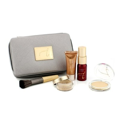 Jane IredaleStarter Kit (6 Pieces): 1xPrimer & Brighter 1xLoose Mineral Powder 1xMineral Foundation...