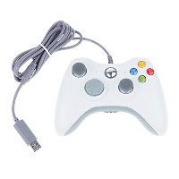 iFormosa XBox 360 USB 有線 ゲームコントローラー 有線/Xbox/Windows対応 ホワイト Xbox360 Controller for Windows IF-X360...