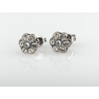 .925 Sterling Silver Plated Charming Earrings from 'Release' Collection Created by Amaro Jewelry...