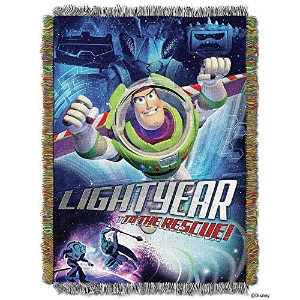 High Qualityxar's Toy Story Buzz Victorious Tapestry Throw, 46 by 60
