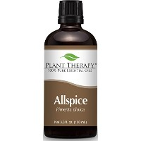 Plant Therapy Allspice (Pimenta officinalis) Essential Oil. 100 ml (3.3 oz) 100% Pure, Undiluted,...