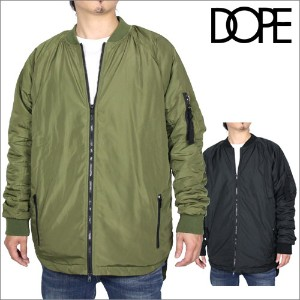 【セール 50%OFF】DOPE ドープ dope sport MA-1 EXTENDED FLIGHT JACKET 16DP-HL362J