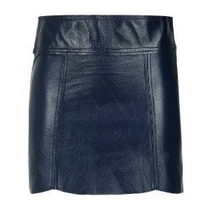 Andrea Bogosian straight mini skirt - ブルー
