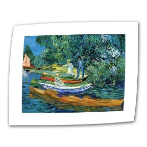 Bank of the Oise at Auver 18x24 VanGogh47-18x24