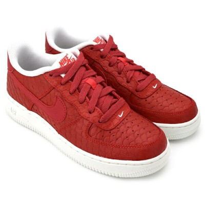 NIKE AIR FORCE 1 LV8 GS ACTION RED/ACTN RD-SMMT WHITE ナイキ エア フォース 1 LV8 GS